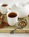 Samurais chai mate tea Lizenzfreie Stockbilder