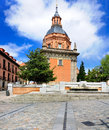 San andres church madrid spain Royalty Free Stock Photo