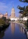 San antonio riverwalk river featuring tall building to the rear texas usa Royalty Free Stock Photo