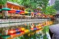 San Antonio Riverwalk Royalty Free Stock Photo