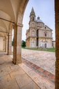 San biagio church in tuscany montepulciano Royalty Free Stock Photos