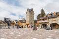 San Carlos de Bariloche in Santa Cruz Province, Argentina Royalty Free Stock Photo