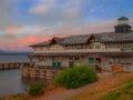 San Carlos Port Royalty Free Stock Photo