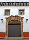 San Cristobal House Entrance Royalty Free Stock Photo