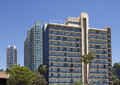 San diego apartments hotel hi rise in downtown california Stock Photo