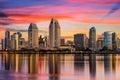 San Diego, California Skyline Royalty Free Stock Photo