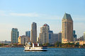 San Diego California, USA  downtown business district buildings Royalty Free Stock Photo
