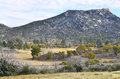 San diego mountains a view of stonewall peak from cuyamaca rancho state park in county california Royalty Free Stock Images