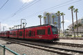 San Diego MTS Train Royalty Free Stock Photo