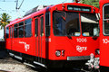 San Diego - MTS Trolley Royalty Free Stock Photography