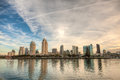 San Diego Skyline Royalty Free Stock Photo