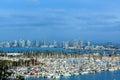 San Diego Skyline Royalty Free Stock Photo
