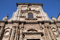 San domenico the baroque church of at nardo in italy Royalty Free Stock Images