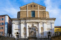 San domenico church in piazza del plebiscito ancona italy Stock Photos