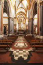 San domenico maggiore inside church in naples italy Royalty Free Stock Photography