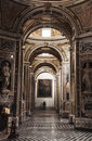 San domenico maggiore inside the church of in naples italy Stock Photos