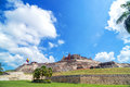 San felipe de barajas castle historic is one of the main attractions in cartagena colombia Stock Image