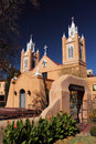 San felipe de neri church old town albuquerque new mexico Royalty Free Stock Image