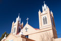 San felipe de neri church in old town alburqueque new mexico usa Stock Photo