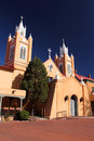 San felipe de neri historic church in old town albuquerque Stock Photography