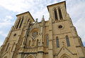 San fernando cathedral of antonio texas Stock Images
