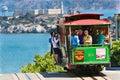 San Francisco Cable Car #13, Alcatraz Royalty Free Stock Photo