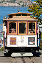 San francisco cable car tram november nd the november nd in usa the system is world last Royalty Free Stock Photos