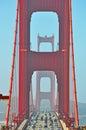 San Francisco, Golden Gate, bridge, skyline, California, United States of America, Usa Royalty Free Stock Photo