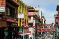San Francisco Chinatown, California, USA Royalty Free Stock Photography