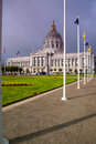 San francisco city hall facade of the civic center california usa Stock Images