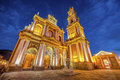 San Francisco in the city of Salta, Argentina Royalty Free Stock Photo