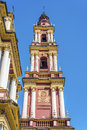 San francisco in the city of salta argentina basilica and convent Stock Photography