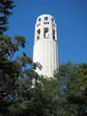 San Francisco  Coit tower Royalty Free Stock Photography