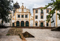 San francisco convent facade olinda brazil the of the colonial historical city of pernambuco Royalty Free Stock Photography