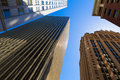 San francisco downtown buildings at california usa Stock Photos