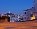 San Francisco at Dusk Royalty Free Stock Image