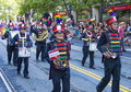 San francisco gay pride june the lesbian freedom band march at the annual parade on june Royalty Free Stock Image