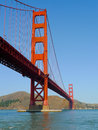 San Francisco Golden Gate Bridge Stock Image