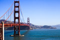San Francisco - Golden Gate Bridge Royalty Free Stock Photo