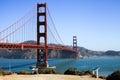 San Francisco - Golden Gate Bridge Trail Overlook Royalty Free Stock Photo