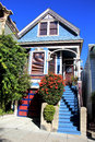 San Francisco Home Royalty Free Stock Photo