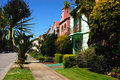San Francisco Houses Royalty Free Stock Photos
