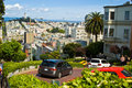 San Francisco Lombard Street Royalty Free Stock Photo