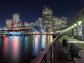 San Francisco at Night Royalty Free Stock Photo