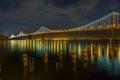San Francisco - Oakland Bay Bridge Royalty Free Stock Photo