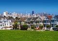 San Francisco Painted Ladies Royalty Free Stock Photo