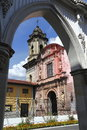San francisco parish uruapan vi located in city in the mexican state of michoacan Royalty Free Stock Photos