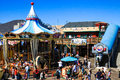San Francisco Pier 39 Carousel Royalty Free Stock Photo
