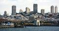San Francisco skyline Stock Photos
