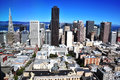 San francisco skyline california usa Royalty Free Stock Photography